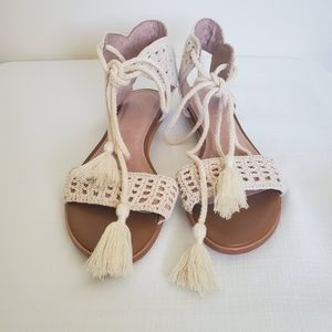 JOIE Crochet sandals*beach wedding*boho